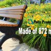 Recylced Benches Made in USA
