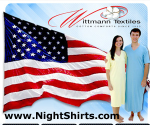 Sleepware Made in USA by Wittmann Textiles